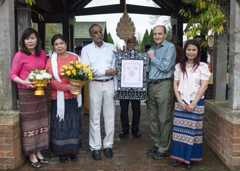 2014 Mudita Ceremony Chao Khun | Ajahn Amaro