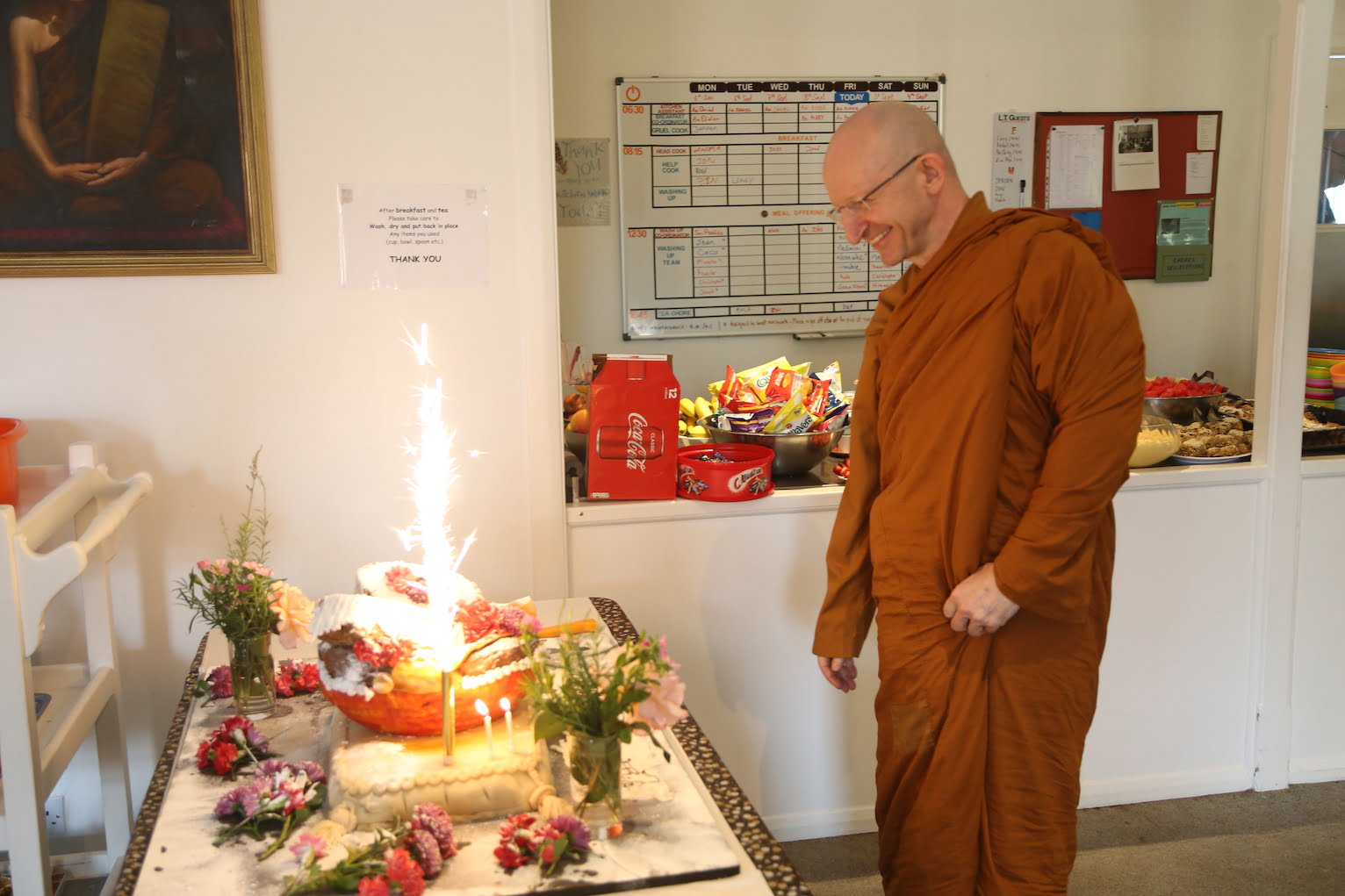 2016.09.02 Ajahn Amaro 60th Birthday