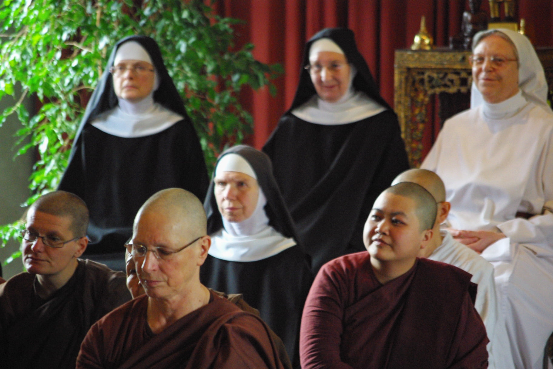 2012.05.15 Benedictine Monks And Nuns At Amaravati