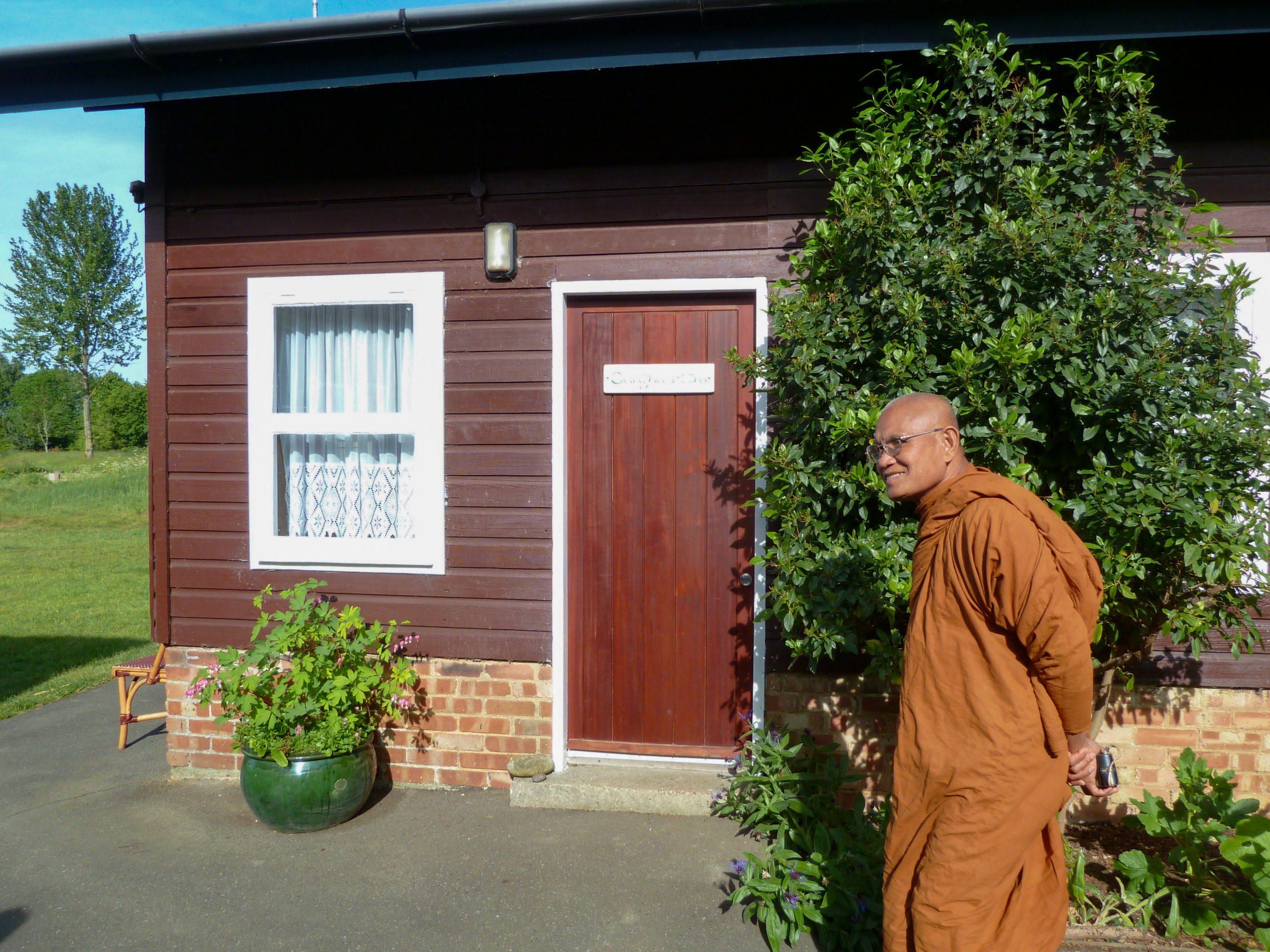 2011 Luang Por Liem and Luang Por Anek's Visit At Amaravati