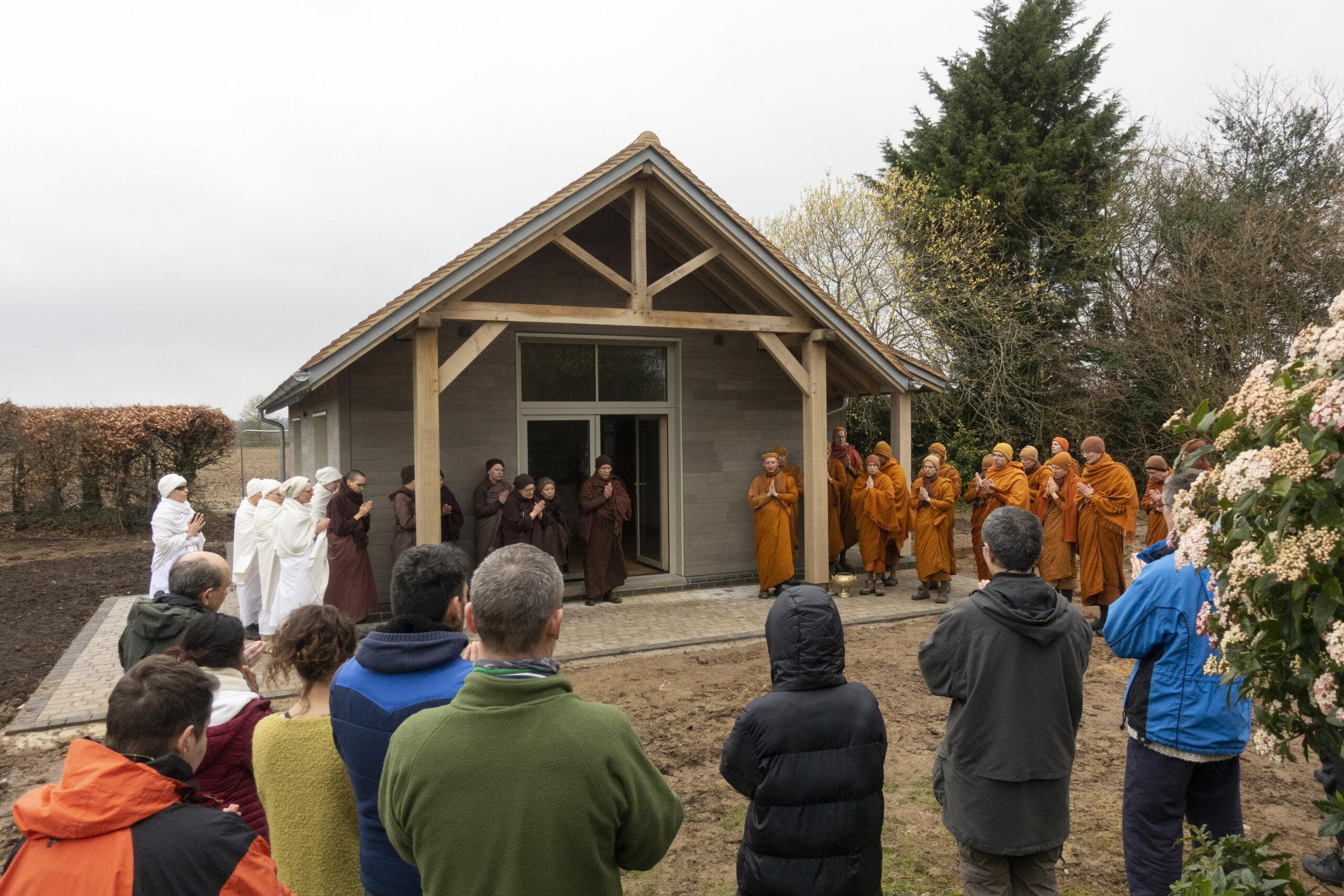 2020.03.19 Blessings ceremony for Amara Kuti & Samaggi Hall