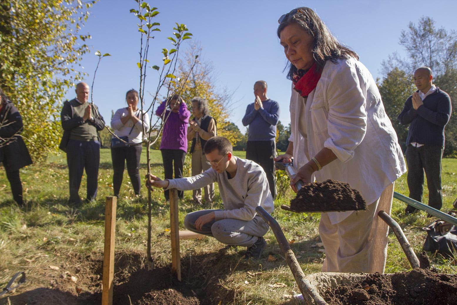 2018.10.09 Tree Planting Ceremony