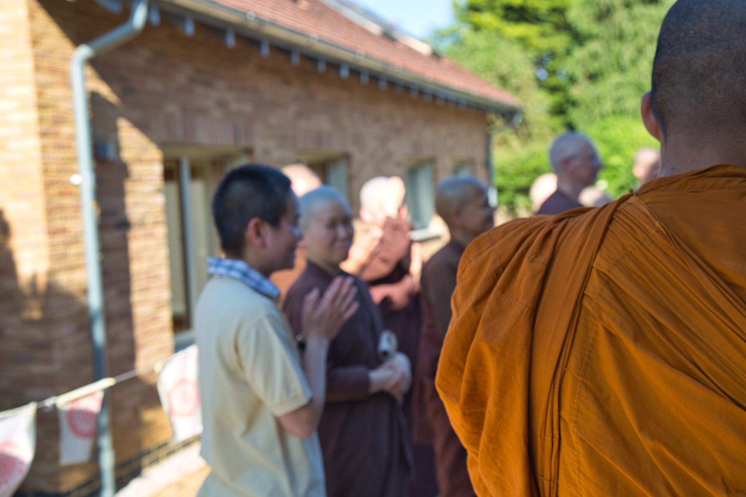 2021.06.13 Blessings Ceremony for the Nuns' Nursing Kuti